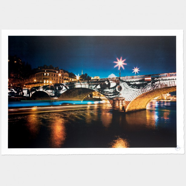 Exhibition in Paris- Pont Louis-Philippe