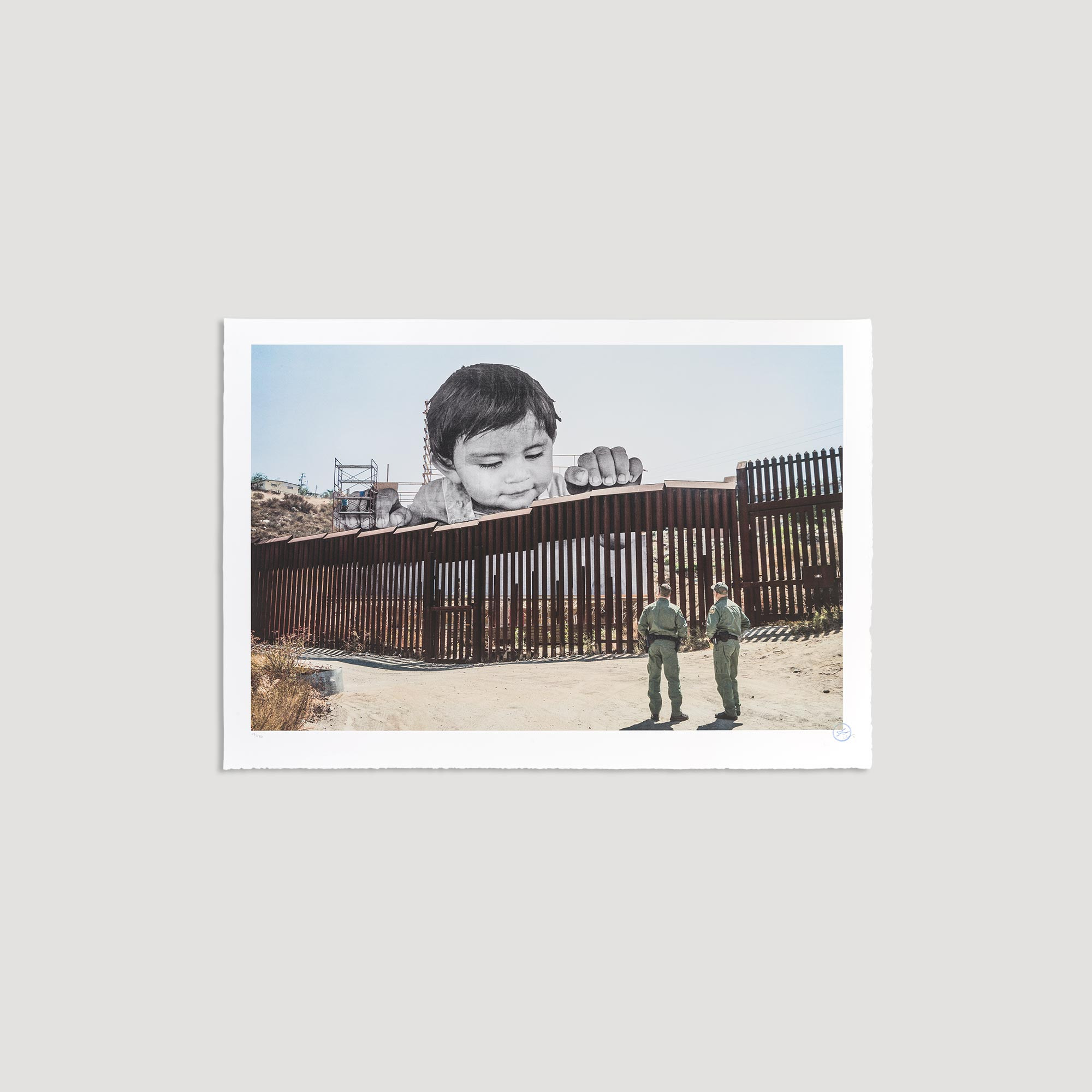 GIANTS, Kikito and the Border Patrol, Tecate, Mexico - U.S.A., 2017